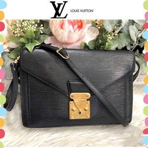 Authentic Louis Vuitton Sellier Dragonne bag